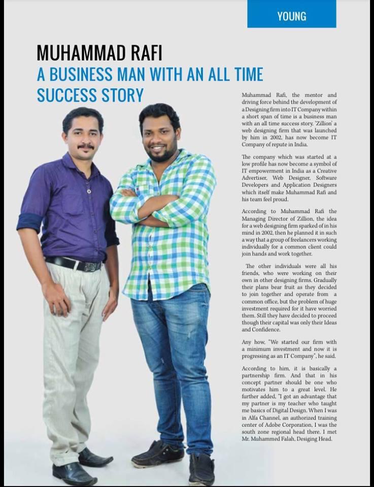 Cochin Herald business magazine (14 October 2015)